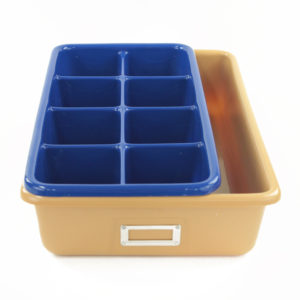 Storage and compartment tray