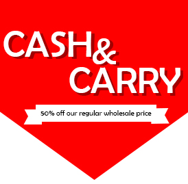 CASH AND CARRY SALE – GREAT DEALS FOR BACK TO SCHOOL ORGANIZATION