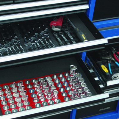 Magnetic Socket & Tool Storage