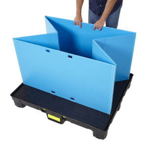 Plastic Pallet Collapsible Sleeve Pack
